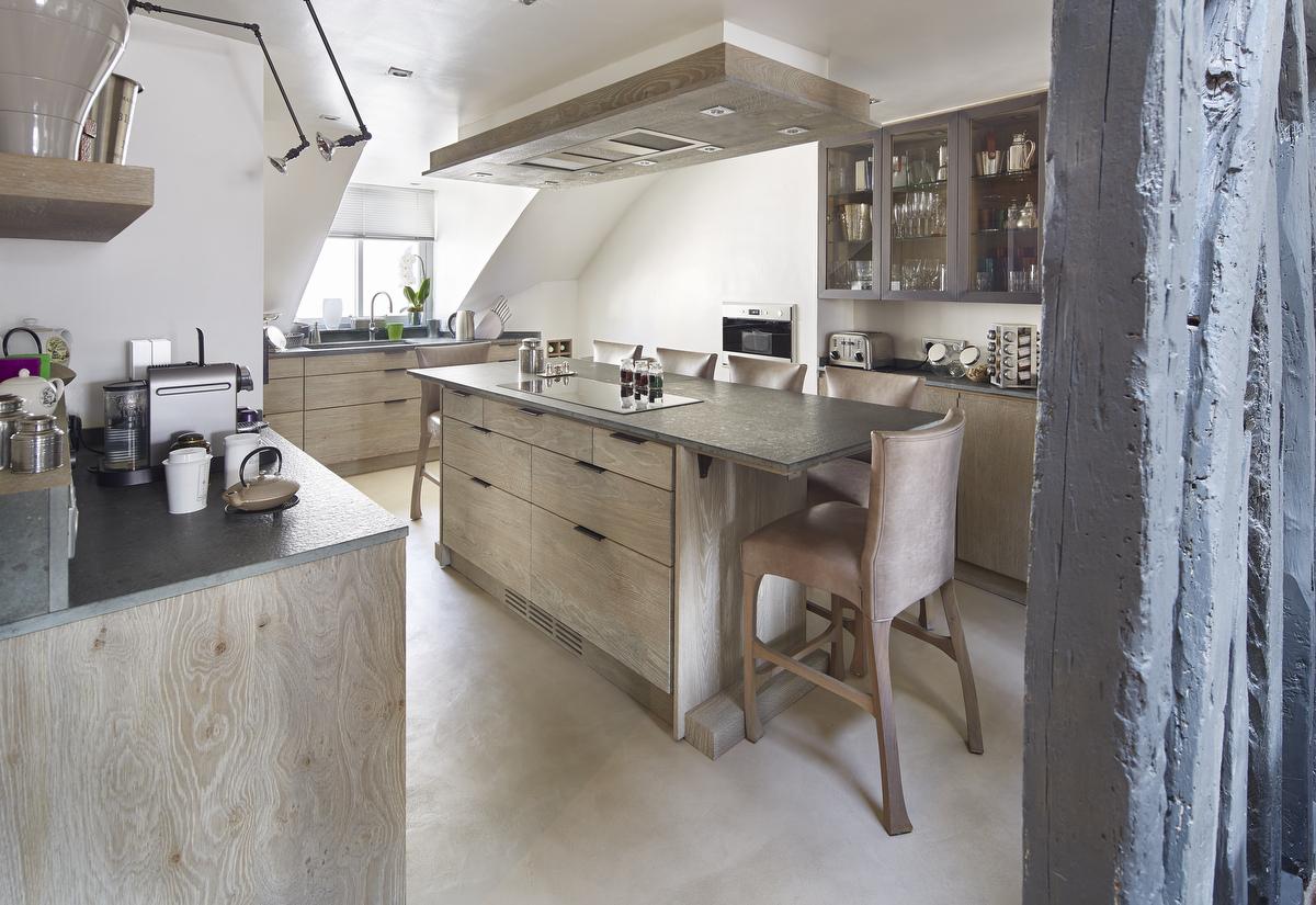 Xavie 39 z une cuisine sous les toits - Cuisine a et z ...