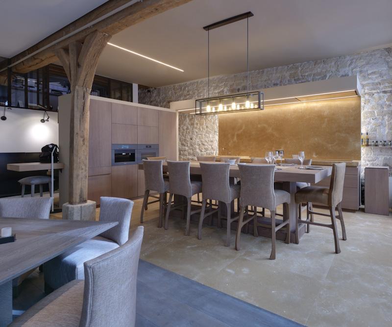 Xavie Z Cuisine Salle A Manger Conviviale Et Elegante
