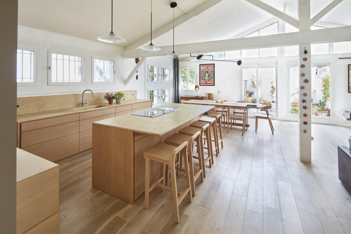 Xavie 39 z une cuisine contemporaine et minimaliste - Cuisine a et z ...